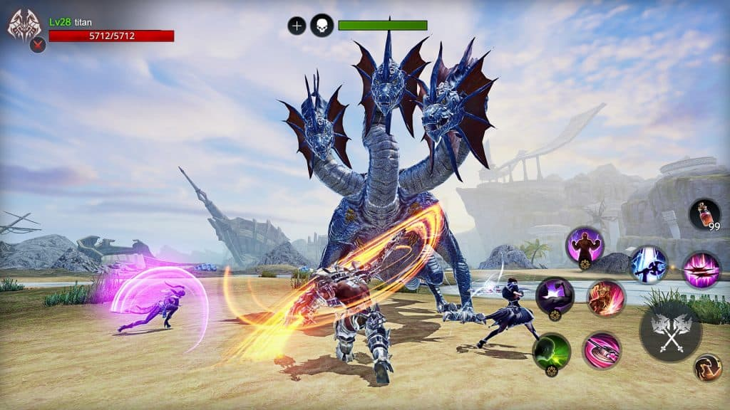 AXE Gameplay Screenshot Mobile MMORPG