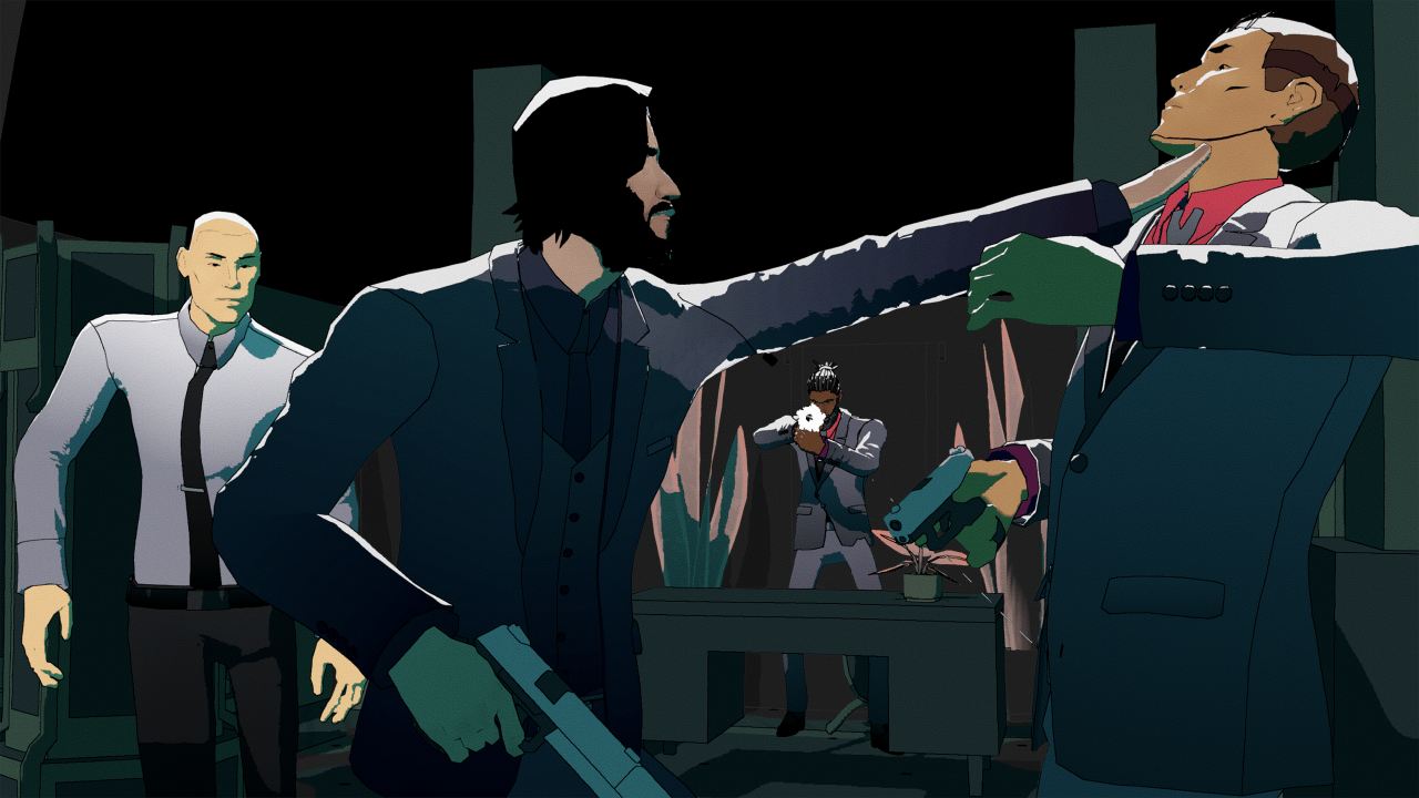John Wick Hex Action Strategy Video Game